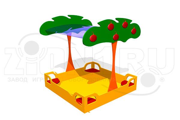 Детская песочница «Яблоня» превью