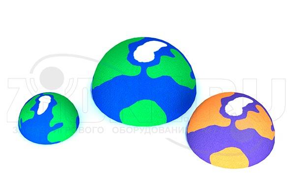 Объемный элемент для парков и детских площадок «Планета», превью