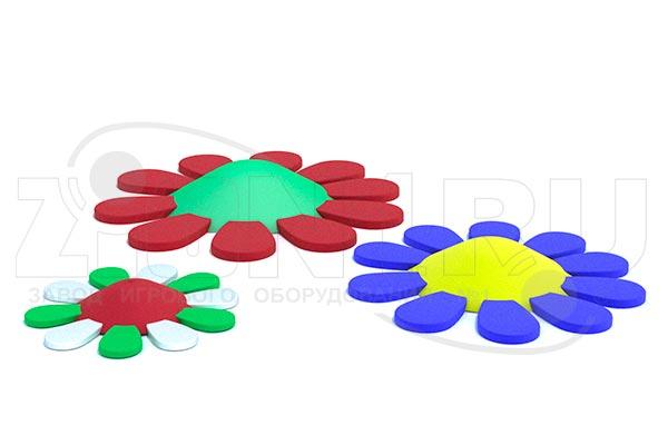 Резиновая фигура «Цветок» из EPDM крошки, превью