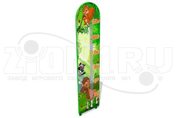 Ростомер детский уличный «Лесной мир М2», превью