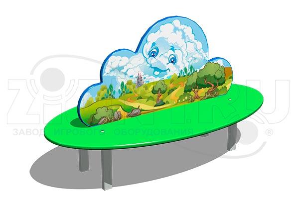 Скамейка детская «Облако» превью