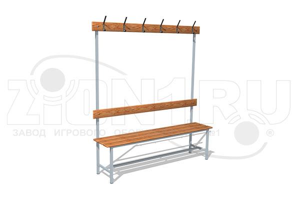 Скамейка для раздевалок СВ3 превью