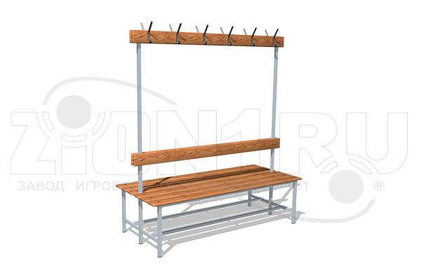 Скамейка для раздевалок СВ6 превью