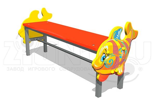 Скамейка детская Кит М1, превью