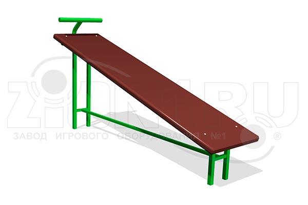 Скамья гимнастическая наклонная превью