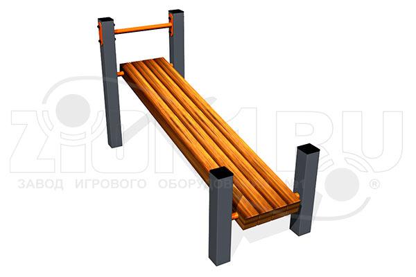 Скамья для пресса наклонная ВБ-200Б превью