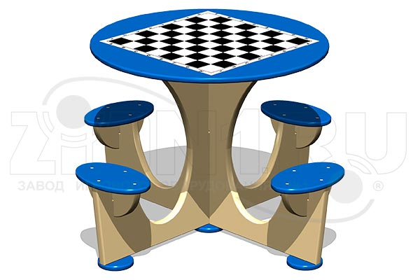 Стол шахматный М4 (детский), превью