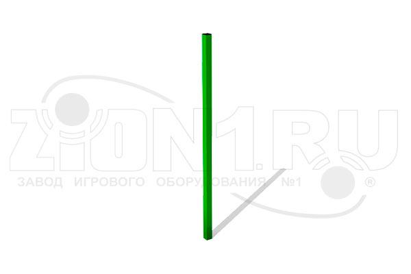 Столб 30.30.980 для газонного ограждения металлический превью