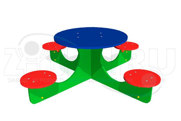 Детский столик «Крестик» превью