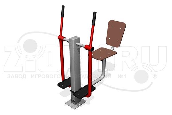 Уличный тренажер для инвалидов «Лыжник М» превью