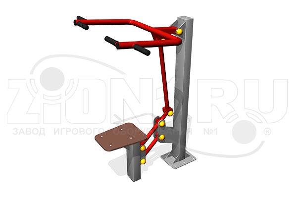 Уличный тренажер «Верхняя тяга» превью