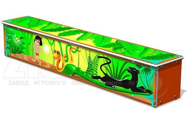 Ящик-скамья для теневых навесов «Маугли», превью
