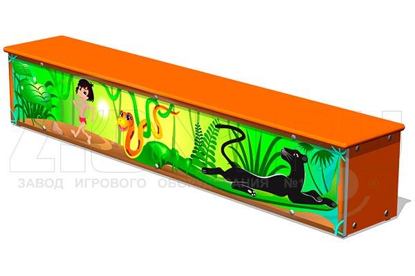 Ящик-скамья для теневых навесов «Маугли М1», превью