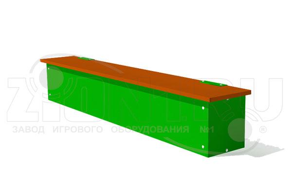 Ящик-скамья для теневого навеса превью