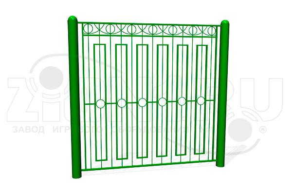 Забор металлический ОЗ-21 превью