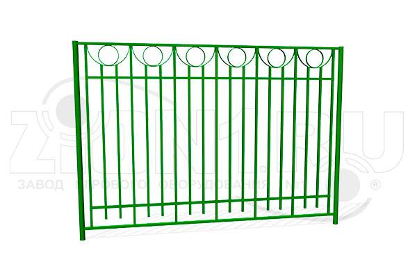 Забор металлический ОЗ-28 превью