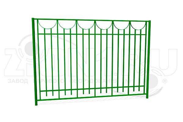Забор металлический ОЗ-29 превью