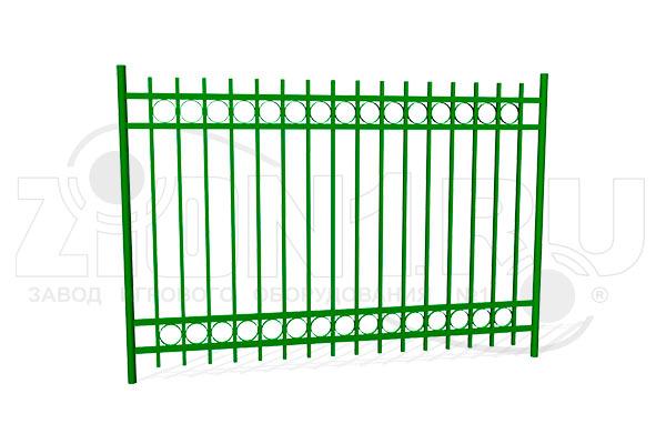 Забор металлический ОЗ-32 превью