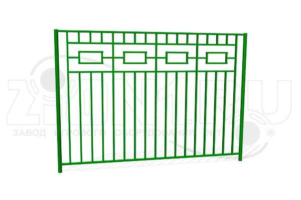 Забор металлический ОЗ-4 превью