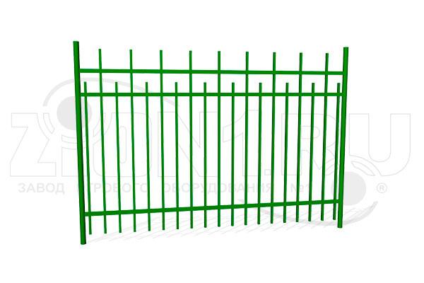 Забор металлический ОЗ-66 превью