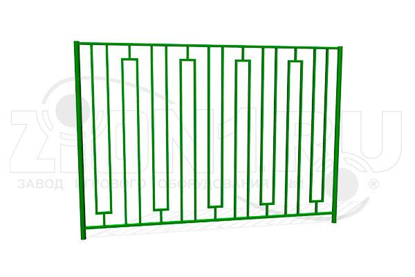 Забор металлический сварной ОЗ-7 превью