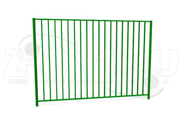 Забор металлический ОЗ-8 превью