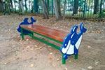 Фото 1 скамейки детской «Кит», превью