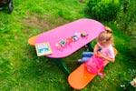Фото 1 детского столика «Овальный» эскиз