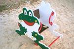 Фото 1 качалки на пружине «Лягушонок», превью