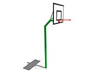 166)Стойка баскетбольная М1