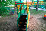 Фотография детской горки «Паровозик» №2 эскиз
