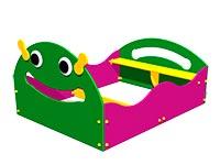 3318)Детская песочница «Гусеничка»