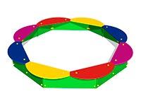 3321)Детская песочница «Восьмиугольная»