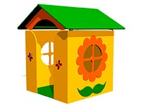Детский игровой домик «Дача» эскиз