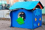 Фото 2 детского игрового домика «Лягушка» превью