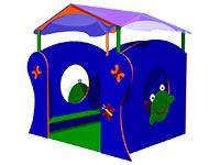 102)Детский игровой домик «Лягушка»