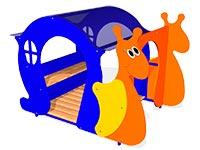 Детский игровой домик «Улитка» эскиз
