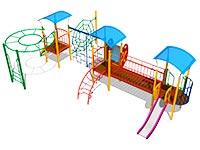 143)Детский игровой комплекс «Легенда»