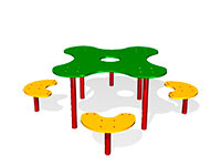 252)Детский столик «Клякса»