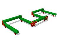 Детский гимнастический бум «Змейка 7»