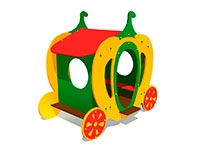 3364)Детский игровой домик «Карета 2»