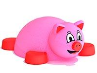 3428)Объемная 3D фигура из резиновой крошки «Свинка»