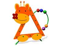 100)Игровая панель «Жираф»