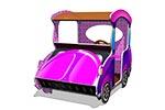Вид спереди игрового макета «Машинка-Жук», превью