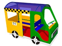 86)Игровой макет «Автобус»
