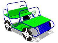 83)Игровой макет «Джип»
