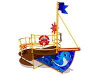 118)Игровой макет «Катерок»
