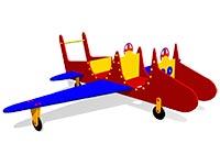 89)Игровой макет «Самолет»