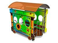 110)Игровой макет «Вагон-Подсолнух»