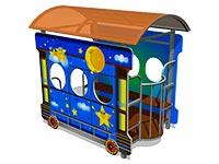 114)Игровой макет «Вагон-Звездочки»
